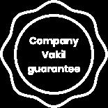 Company Vakil Guarantee