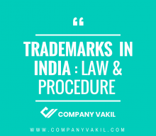 Trademark in India: Law and Procedure