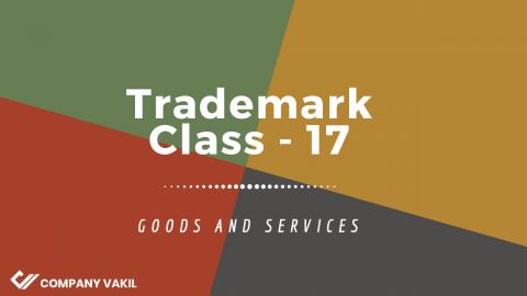 Trademark Class 17: Rubber, Asbestos and Mica