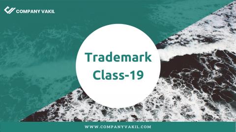 Trademark Class 19: Building Materials