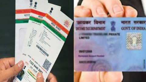 Linking Aadhaar with PAN Card
