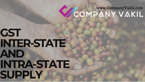 GST INTER-STATE AND INTRA-STATE SUPPLY