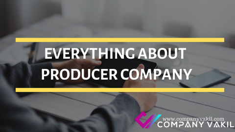 EVERYTHING ABOUT PRODUCER COMPANY