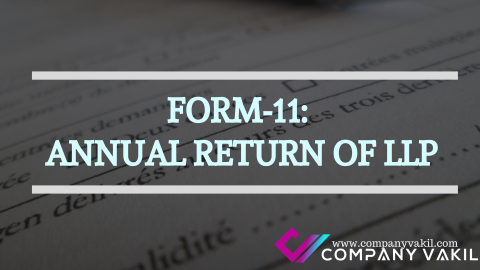 FORM-11: ANNUAL RETURN OF LLP