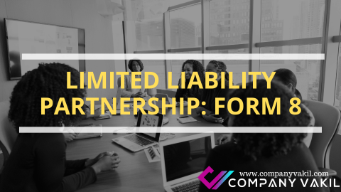 LIMITED LIABILITY PARTNERSHIP: FORM 8